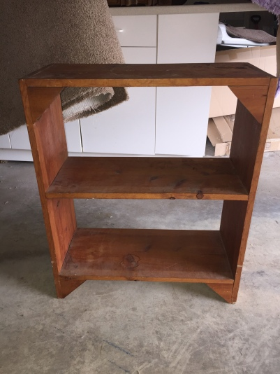 We Looked Through Our Inventory And Found A Cute Little Bookshelf That Was Screaming Pick Me