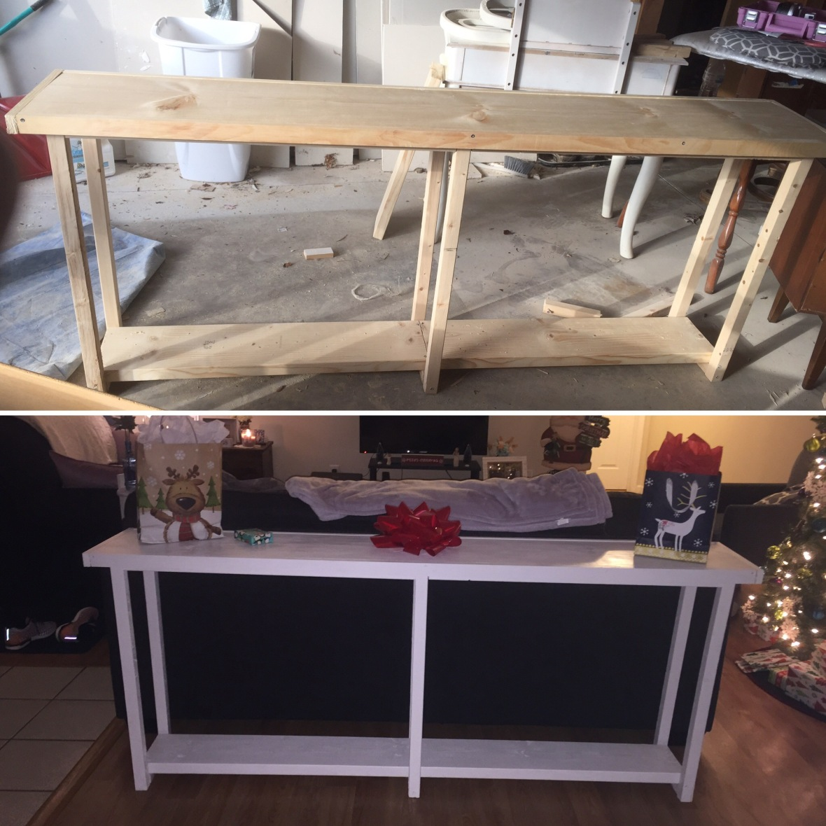 before and after custom table