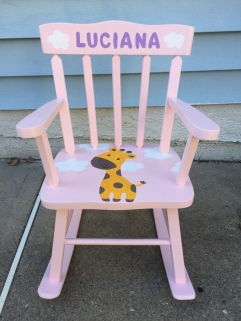 luciana rocking chair