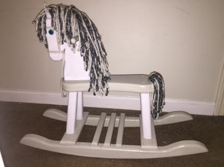rocking horse after