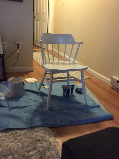 captains chair white