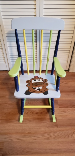 mater rocking chair finished