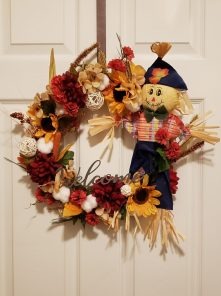 scarecrow wreath