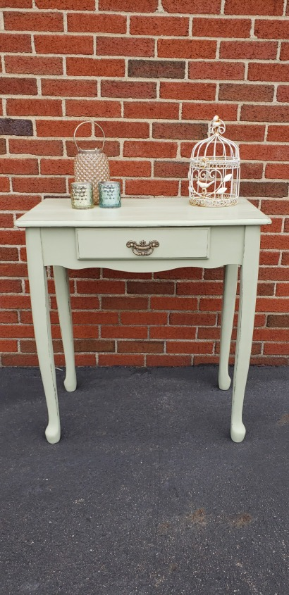 Distressed Green Table