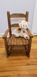 Refinished 54 Year-Old Rocking Chair