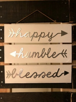 happy humble blessed
