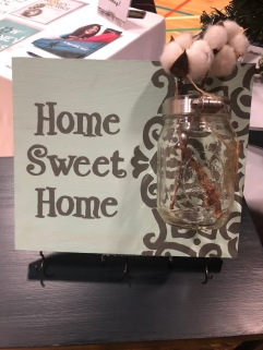 home sweet home key holder