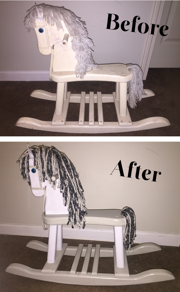 rocking horse before and after_Pinterest