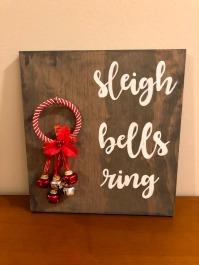 sleigh bells ring sign