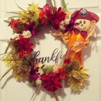 thankful wreath