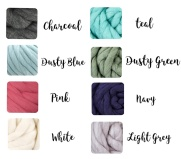 chunky knit blanket colors