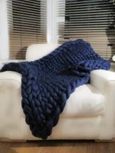 navy blue blanket