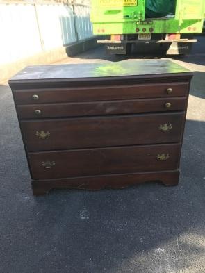 dresser before transformation