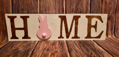 Home Sign_Bunny