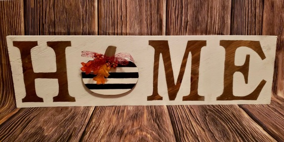 Home Sign_Pumpkin