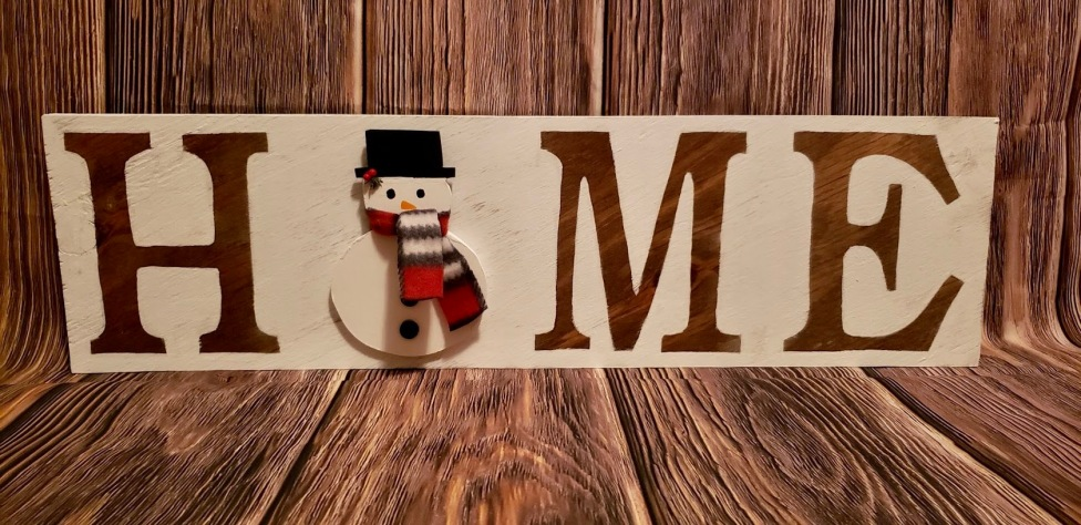 Home Sign_Snowman