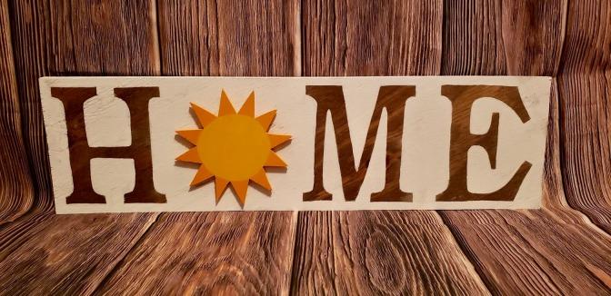 Home Sign_Sun