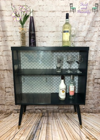 mid century bar with logo